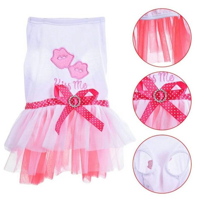 harga Baju dress dres gaun rok anjing dan kucing pink Tokopedia.com