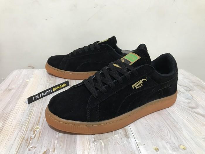 info for 0b5be cb507 Jual Sepatu Puma Suede Classic Skate Skateboarding Black Rubber Gum Brown -  Jakarta Selatan - Fresh Banana | Tokopedia