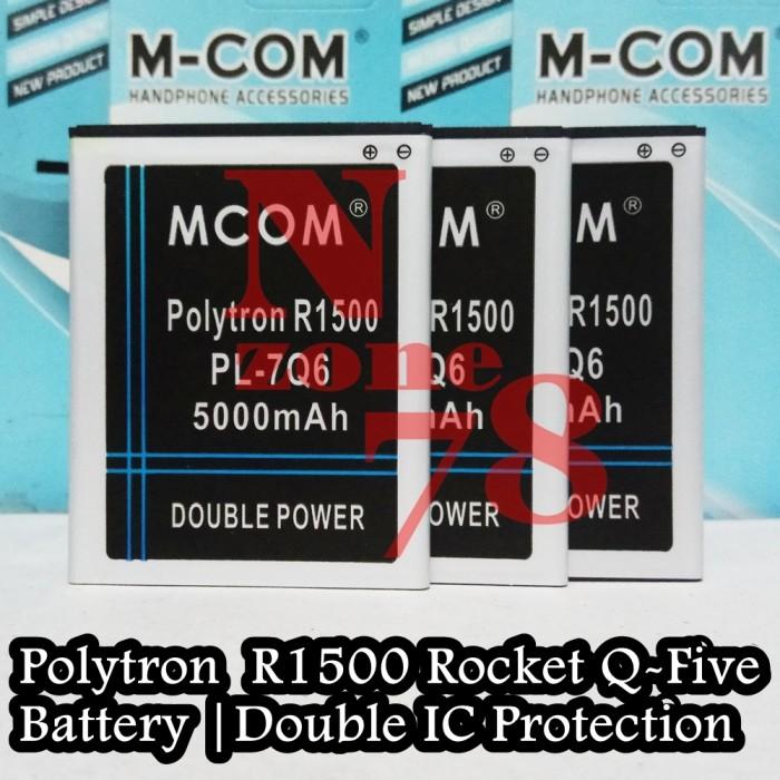 Baterai Polytron R1500 Rocket Q-five Q5 PL-7Q6 Double Power