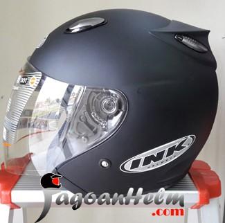 harga Ink centro jet helm original helmet black doff / hitam dop Tokopedia.com