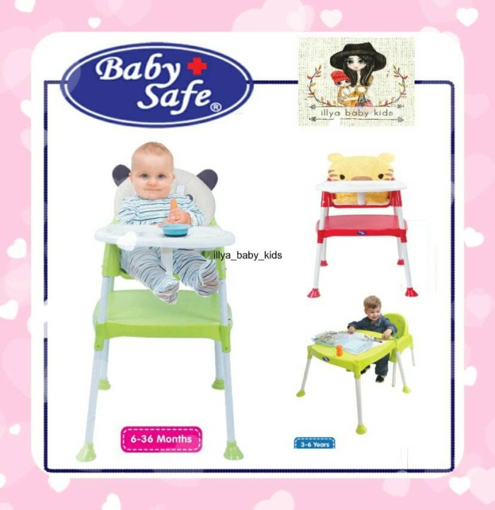 harga Bangku makan bayi | high chair baby safe | separable high chair Tokopedia.com