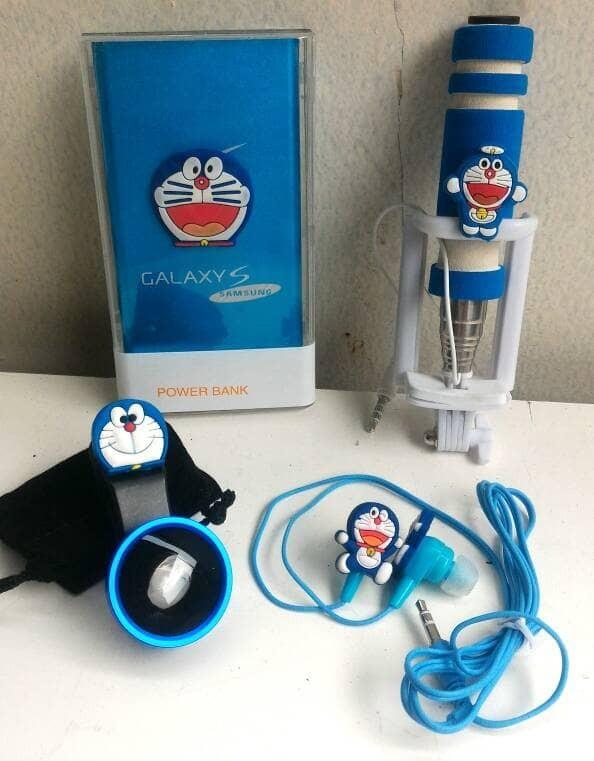 Paket super hemat special doraemon 4in1 powerbank slim