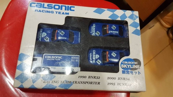 harga Tomica calsonic giftset set skyline r32 r33 r34 transporter vhtf rare Tokopedia.com