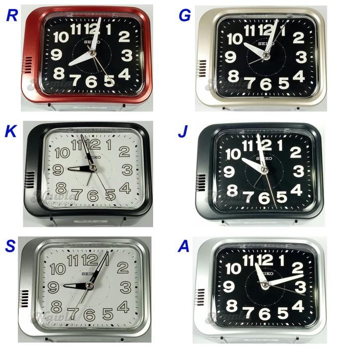 harga Seiko alarm clock qhk028 luminous bell - jam weker lonceng r-g-k-j-s-a Tokopedia.com