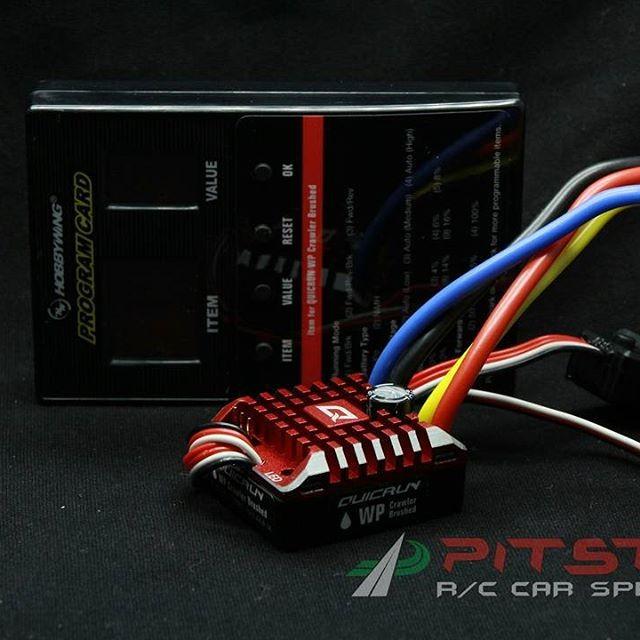Jual hobbywing 1080 brushed esc include program card waterproof - Kab   Sleman - pitstop rc yogyakarta | Tokopedia