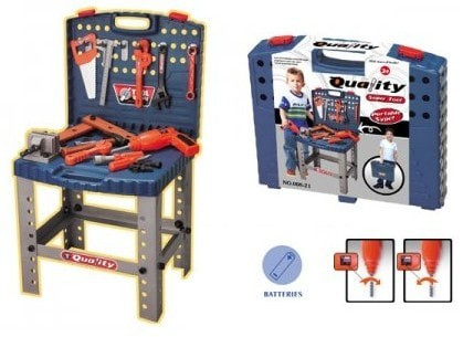 harga Quality super tool set - mainan tukang tukangan perkakas workbench Tokopedia.com