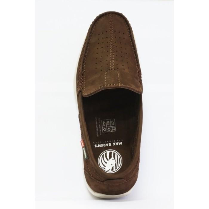 harga Max barens sepatu kulit pria original murah mn 02 brown Tokopedia.com