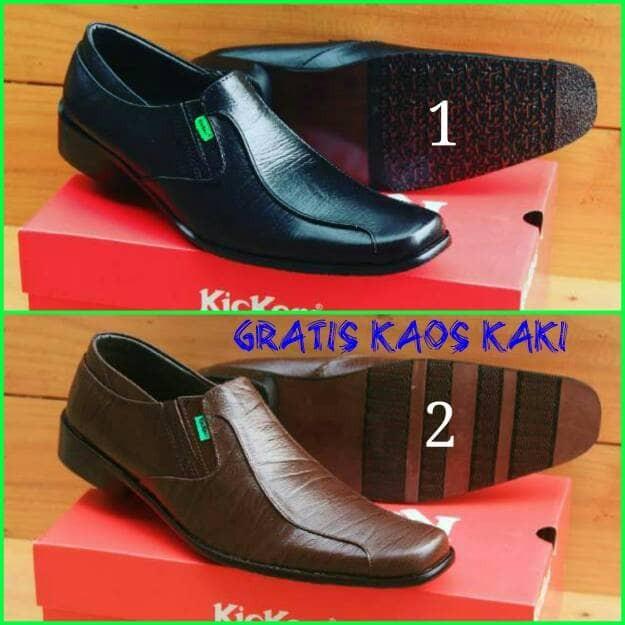 ... harga Sepatu pantofel pria kickers kulit sapi asli Tokopedia.com 549b450363