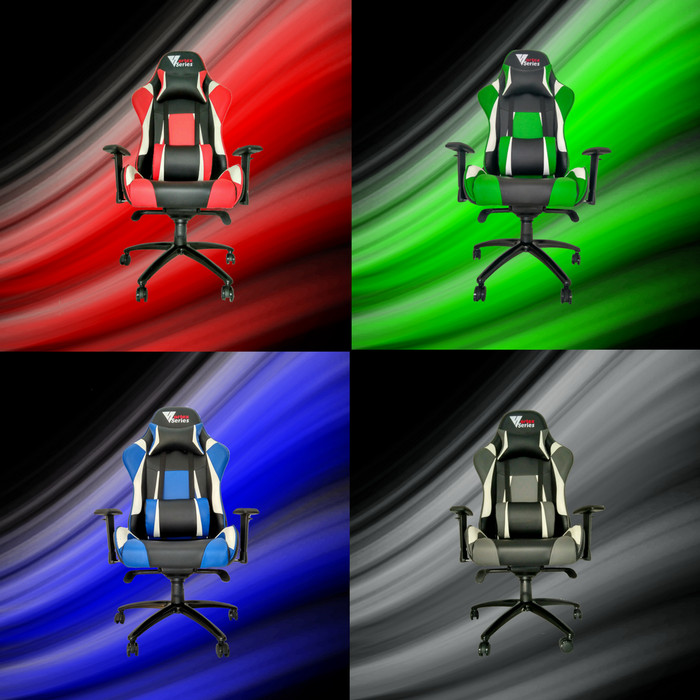 """Foto Produk Vortex """"W"""" Series Gaming Chair / Kursi Gaming Komputer - Merah dari VortexSeries"""