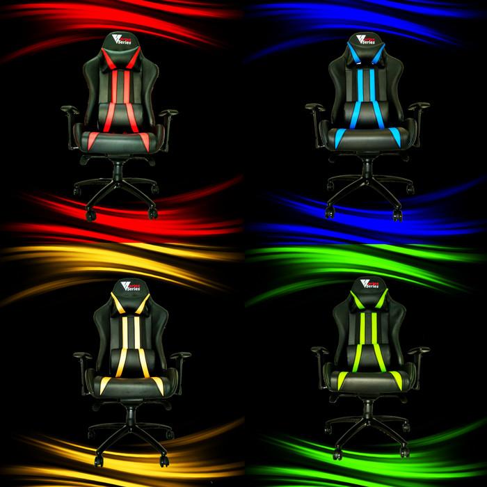 "Foto Produk Vortex ""X"" Series Gaming Chair / Kursi Gaming Komputer - Biru dari VortexSeries"