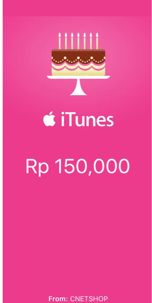 Itune Gift Card Indonesia / IGC indonesia