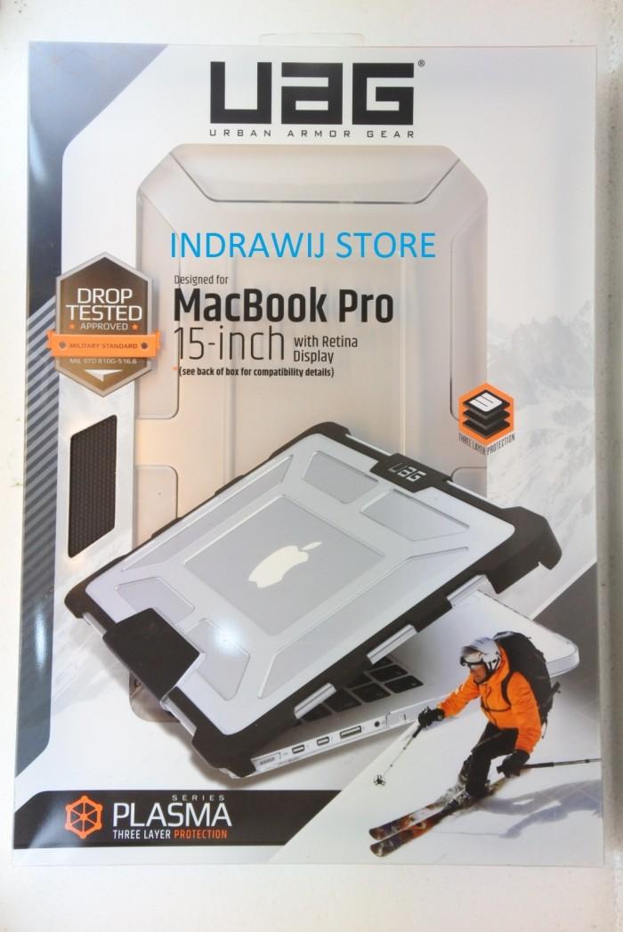 harga Uag plasma case for macbook pro retina display 15  inch - ice Tokopedia.com