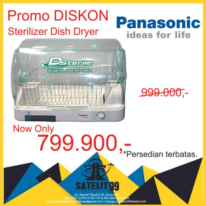 harga Panasonic sterilizer and dish dryer Tokopedia.com