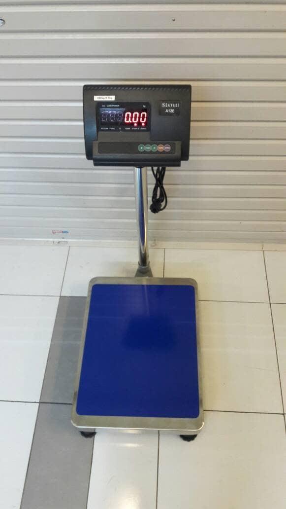 harga Timbangan barang digital 150kg/10g. timbangan lantai/timbanga ekpedisi Tokopedia.com