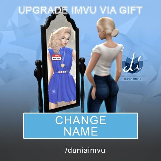 Jual Upgrade IMVU Change Name (CN) - Kota Malang - Dunia Imvu | Tokopedia