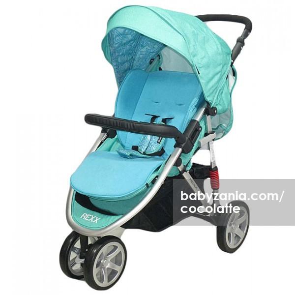 harga Cocolatte stroller bayi cl 481 rexx - blue Tokopedia.com