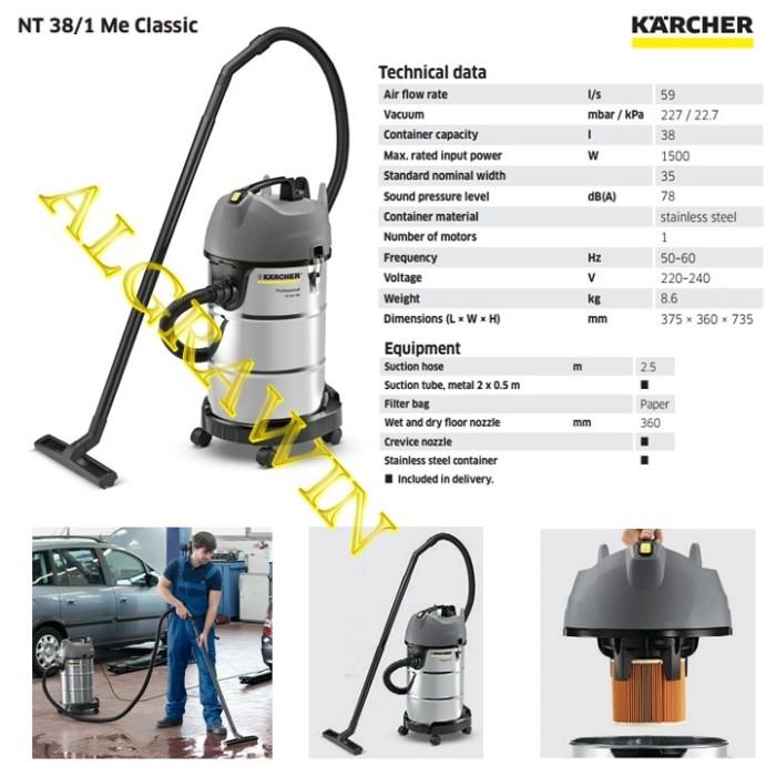 harga Karcher nt 38/1 me classic me profesional wet and dry vacuum cleaner Tokopedia.com