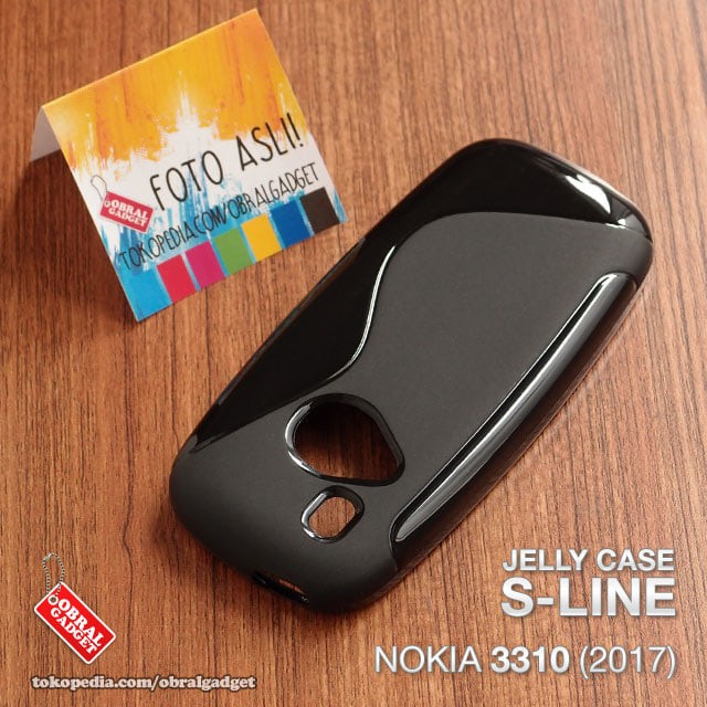 harga Soft jelly case nokia 3310 reborn 2017 softcase silicon silikon casing Tokopedia.com
