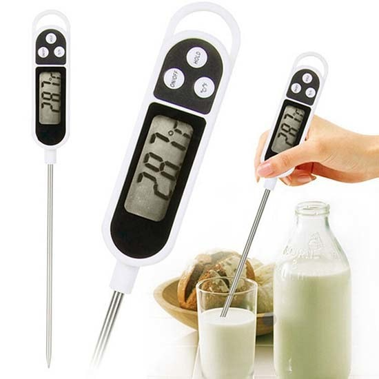 harga Food thermometer digital termometer makanan minuman air bbq susu d300 Tokopedia.com