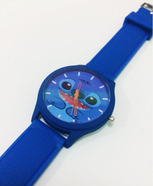 harga Jam tangan custom karakter stitch murah (bisa req nama/tanggal/gambar) Tokopedia.com