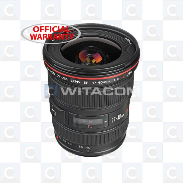 harga Canon ef 17-40mm f/4l usm Tokopedia.com