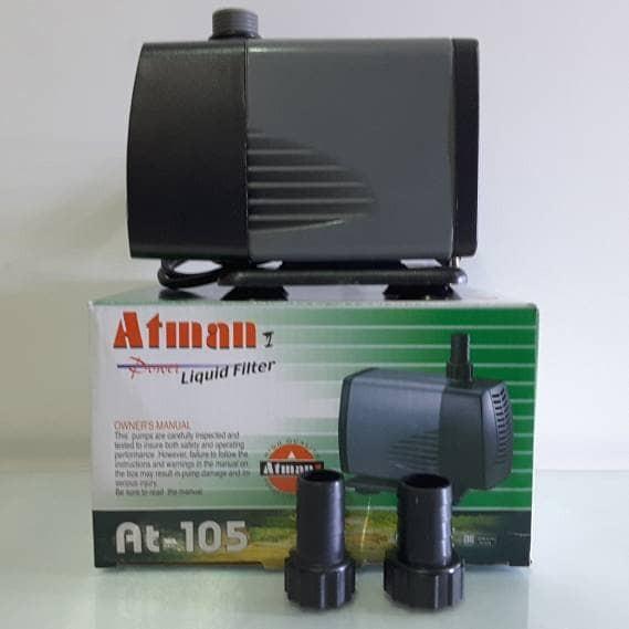harga Atman at-105 pompa celup air aquarium / kolam / hidroponik at105 Tokopedia.com