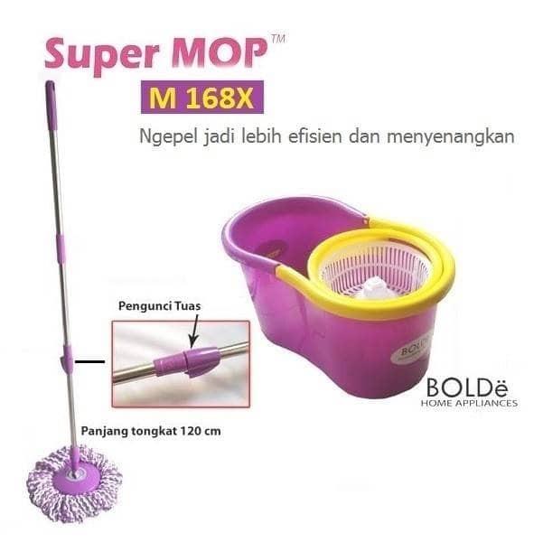 SUPER MOP BOLDE SUPER MOP M-169X +ALAT PEL M-169X+PLUS