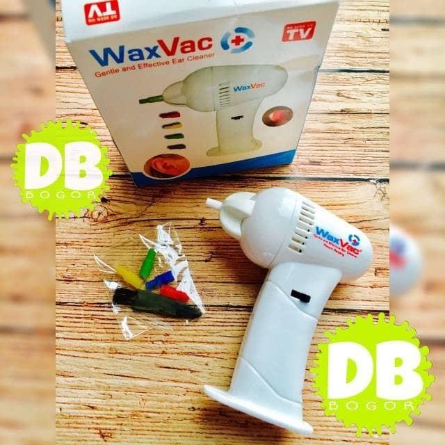 Electric Ear Wax Vacuum WaxVac Removal / Pembersih Telinga .