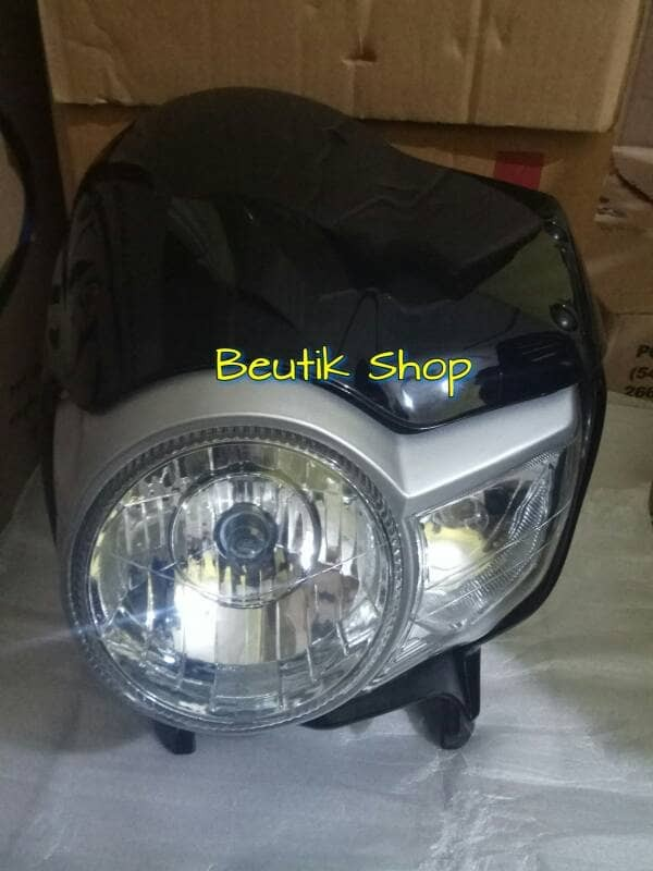 Reflektor lampu depan tiger revo