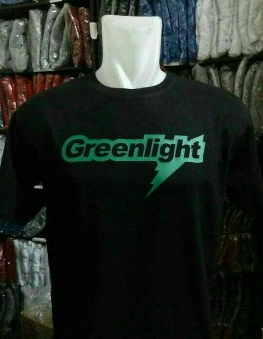 kaos/baju/t-shirt greenlight