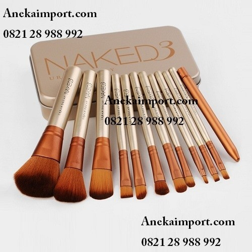 harga Brush naked3 isi 12pcs jual brush set murah kuas make up set Tokopedia.com