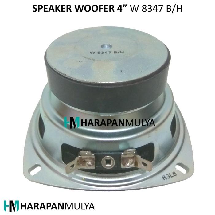 harga Speaker woofer 4  / wofer 4 inch w8347 b/h [magnet besar] Tokopedia.com