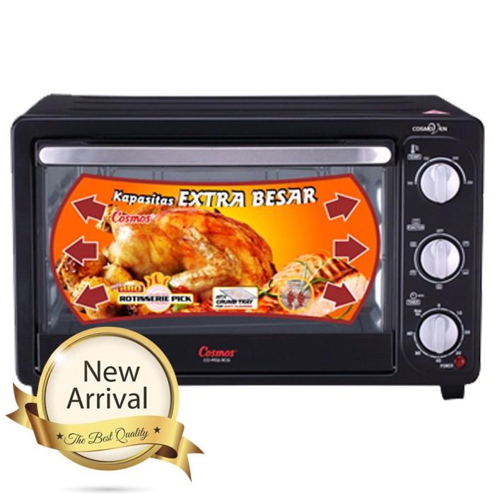 harga Cosmos co9926rcg electric oven 26l panggangan listrik kue, roti, ayam Tokopedia.com
