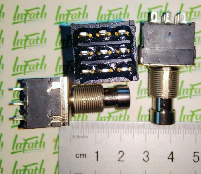 harga Infath - 3pdt tanpa mur solder lug saklar efek foot  switch stompbox Tokopedia.com