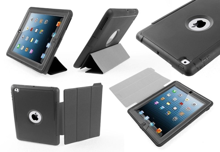 save off 7aaf7 e9719 Jual Case iPad 2/3/4 Otterbox Defender II Flip Cover Murah Best Seller -  SupplierImport . com | Tokopedia