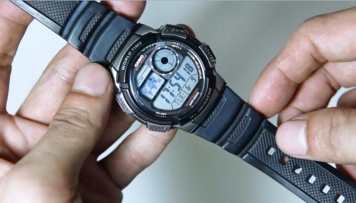 harga Casio ae-1000w-1bvdf - jam tangan original garansi resmi Tokopedia.com