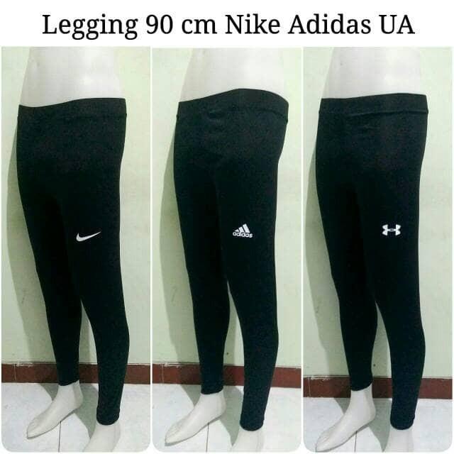 harga Legging 90 Cm Nike Adidas Ua - Manset Panjang Celana Baselayer Unisex Tokopedia.com