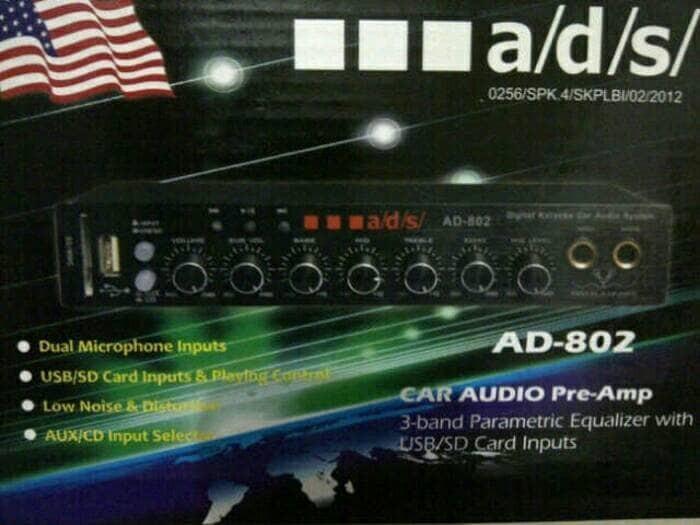 harga Preamp/parametrik usb karaoke murah ads 802 Tokopedia.com