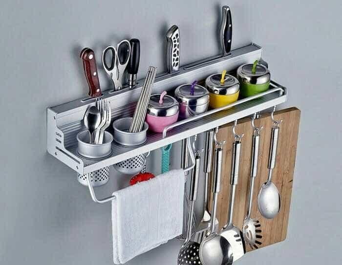 Murah rak dinding dapur tempat bumbu alat dapur masak