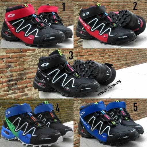 ... harga Sepatu boot outdoor salomon speed cross 3 import Tokopedia.com 7560f57ebc