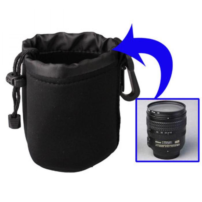 harga Pouch neoprene lensa dslr dengan clip Tokopedia.com
