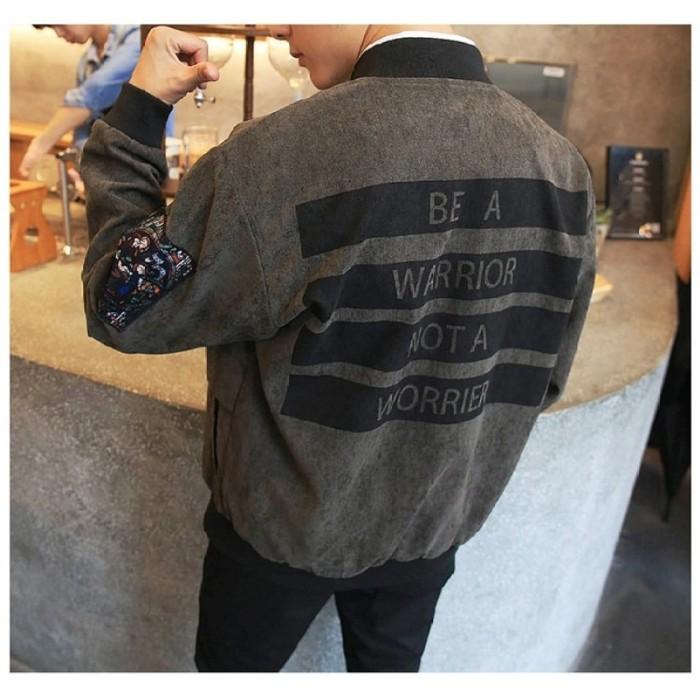 Jual Grandwish Pria Printing Motif Kartun Desain Korea Jaket Jack