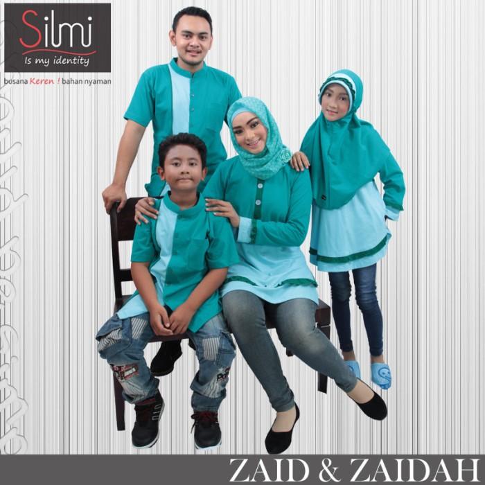 Baju Muslim Keluarga Couple Murah Simple Modis Kelu