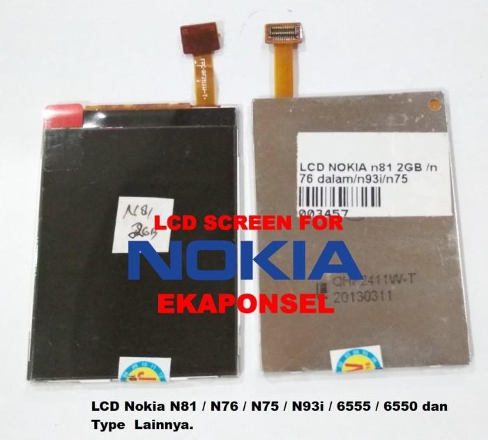 harga Lcd nokia n81 n76 n75 n93i 6555 6550  ori Tokopedia.com