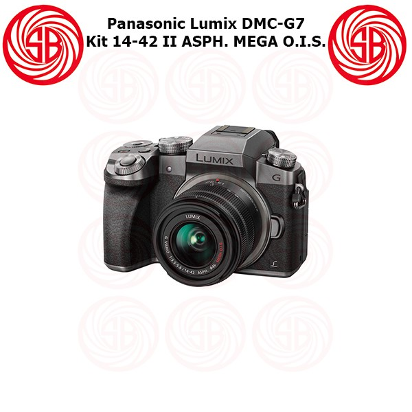 harga Kamera panasonic lumix dmc-g7 + 14-42 ; camera mirrorless g7 ; g 7 Tokopedia.com