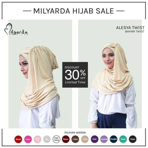 harga Kerudung instan/ najwa/ hijab/ jilbab Tokopedia.com
