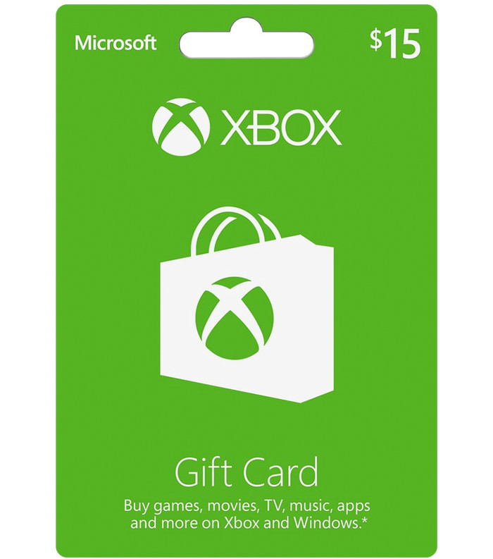 harga Xbox live gift card 15$ usd Tokopedia.com