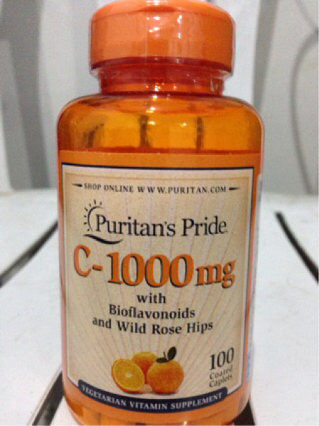 Puritan puritan's pride vitamin vit c 1000 mg 100 caps