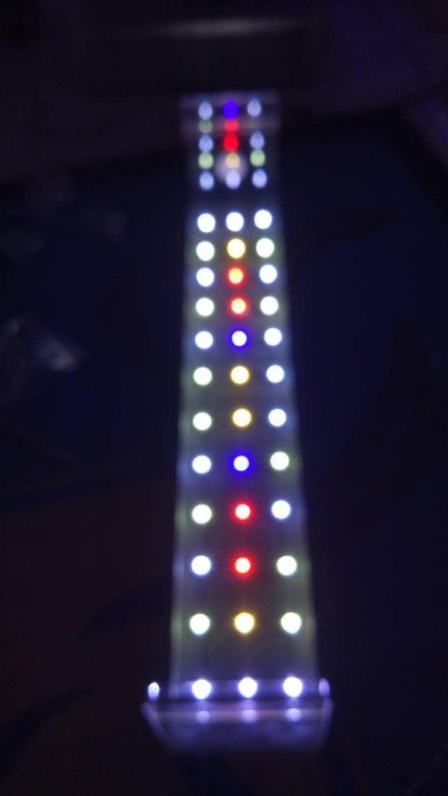 Jual Lampu Aquarium Aquascape Diy Hpl Led 24 Watt 60cm Cek