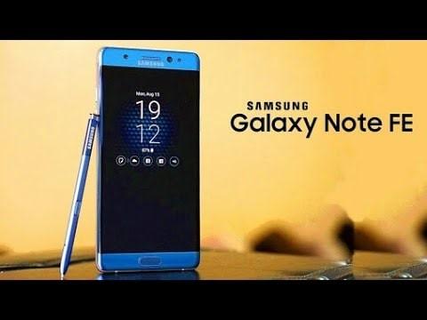 Info Samsung Galaxy Note Fe Travelbon.com